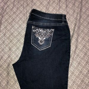 Denim - Bedazzled Bootcut Jeans